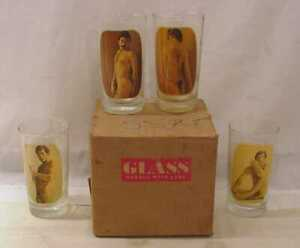 1970'S SUPER RARE PLAYGIRL HOMO QUEER  GAY BOY EROTICA TUMBLERS NEW IN BOX