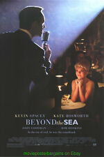 BEYOND THE SEA MOVIE POSTER Original DS 27x40 KEVIN SPACEY KATE BOSWORTH