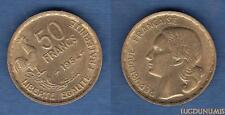 IV République 1947 - 1959 50 Francs Georges Guiraud 1954 TTB +