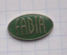 SKODA / FABIA / LOGO ............................ Auto-Pin (111g)