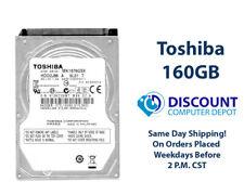 "160GB 2.5"" HDD Notebook / Laptop Hard Drive Internal SATA Toshiba Brand"