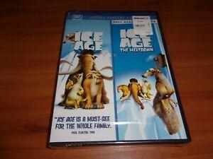 Ice Age/Ice Age 2: The Meltdown (DVD 2-Disc Set 2009) NEW