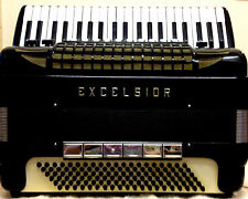 EXCELSIOR 940 PIANO ACCORDION-COMPLETE WITH ORIGINAL MASTER MIDI & INSTRUCTIONS!