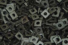 (200) Malleable 1/4 Square Bevel Washers I-Beam Flange Wedge