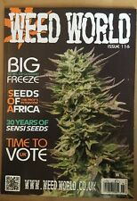 Weed World Seeds Africa Sensi Time Big Freeze Skunk high #116 2015 FREE SHIPPING