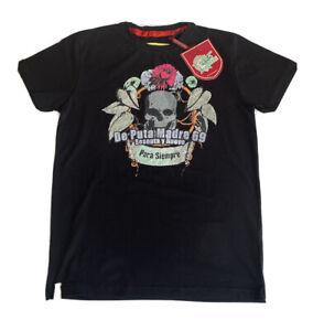 De Puta Madre Shirt Men's (S108) 100% Authentic Size M New