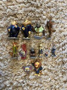 Disney Store Zootropolis Zootopia Figures Bundle Cake Toppers Toys X12