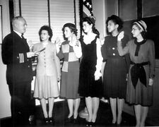 WW2 Photo WWII US Navy Nurses Swearing In Ceremony World War Two  / 1217