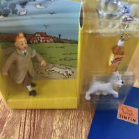 The Adventure of TINTIN  LIPTON Figure Mascot Key Ring Chain Giveaway Novelty