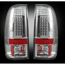 Recon 264172CL Clear LED Tail Lights For 1999-07 Ford Superduty & 1997-03 F150