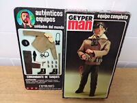 geyperman vintage comandante de tanques box ( action man joe team group gijoe )