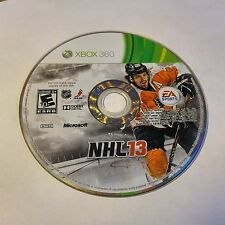 NHL 13 (Microsoft Xbox 360, 2012) DISC ONLY #815