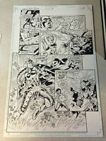 LEGIONNAIRES AN #3 original art, DEAD EARTH, SPEAR OF DESTINY, STUNNING PAGE