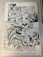 LEGIONNAIRES AN #3 original art, DEAD EARTH, SPEAR OF DESTINY, STUNNING PAGE