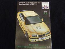 BMW CLUB 89 TRACKDAY SPECIALISTS BMW A4  C