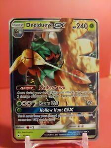 Decidueye GX - 12/149 - Ultra Rare NM Sun & Moon