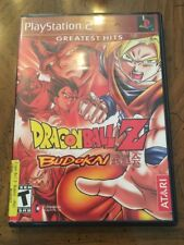 Dragon Ball Z Budokai Sony Playstation 2 PS2 Video Game Complete