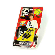 Black Slingz Hands Free Sports Strap Skateboards Scooters Ripstiks Razors