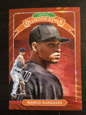 Marco Gonzales 2020 Donruss Optic Diamond Kings Red Wave Prizm #22  Mariners