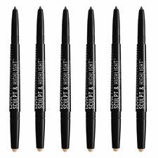 6-New NYX PROFESSIONAL MAKEUP Sculpt & Highlight Brow Contour Eyebrow Pencil Bru