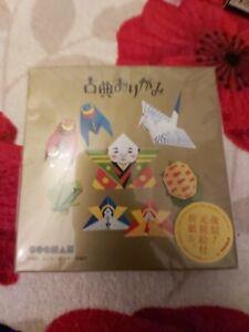Japanese classic art Paper Toys Kit Origami New & Sealed gift hobby