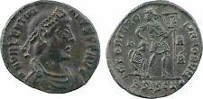 Valentinien, follis, Siscia, GLORIA ROMANORVM - 28