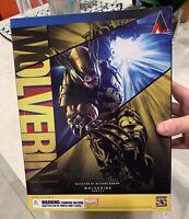 Marvel Universe - Play Arts Kai - WOLVERINE Action Figure NIB Sealed Box