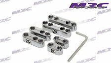 MRC 6PC Silver Spark Plug ignition Leads Wire Separator Turbo Custom V8 Hot Rod
