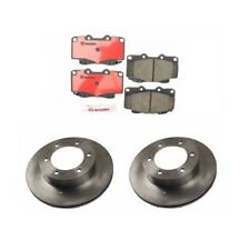 Front Disc Brake Rotors And Ceramic Pads Kit Brembo for Toyota 4Runner Tacoma