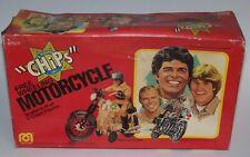 Ponch and John Chips Free Wheeling Motorcycle TV Show Mego 1980 Unused