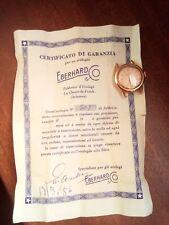 Orologio Donna Eberhard in Oro 18 kt Anno 1956 Funzionante