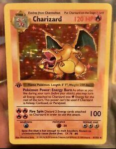 1st edition charizard pokemon card