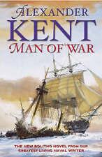 Alexander Kent Signed 1st edition Man of War (Hardback, 2003)