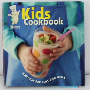 Pillsbury Kids Cookbook Fun Food Snack Recipes for Boys / Girls Dessert Sandwich