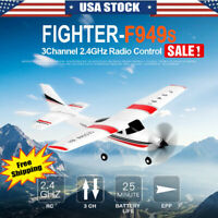 WLtoys 3CH Remote Control Airplane Toy RC Plane Ready To Fly Aircraft Model US