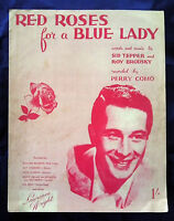 RED ROSES FOR A BLUE LADY, words & music by Sid Tipper & Roy Brodsky, c.1948