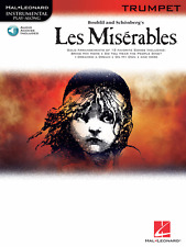 """LES MISERABLES"" INSTRUMENTAL PLAY-ALONG FOR TRUMPET-MUSIC BOOK/AUDIO ACCESS-NEW"