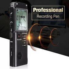 Mini Digital 8GB Grabadora de voz digital LCD Dispositivo de grabación USB