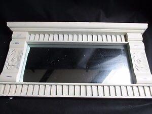 White Mirror IN Style Antique