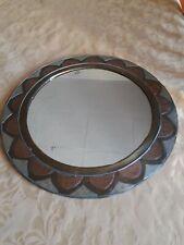 Grande Specchio Ferro Battuto Marocchino Decorazione Orientale 63 CM Arredo