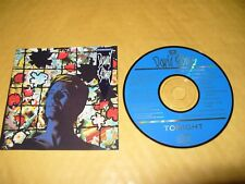 David Bowie Tonight 9 Track cd Japan cd 1984 Excellent Condition