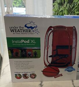 Under the Weather InstaPod Stay Warm & Dry Weather Pod, Red, XL, Brand New!!