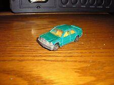 Nice 1/59 Vintage Majorette No. 231 Mercedes 190E Sport Sedan Green