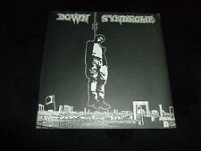 "DOWN SYNDROME 7"" 45RPM PS EP S/T PUNK ROCK HARDCORE POSTER BLACK SUN 1984 .MB"