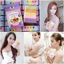 1 X FRUITAMIN SOAP 10 IN 1 GLUTATHIONE REDUCE DARK SKIN BY WINK WHITE WHITENING