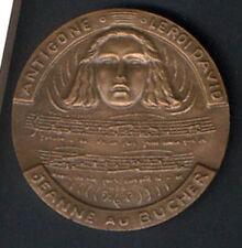 ARTHUR HONEGGER 1892 COMPOSER ( ANTIGONE KING DAVID JEANNE AU BUCHER ) MEDAL