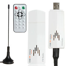 Digital USB 2.0 Analog Signal TV Stick Box Worldwide Receiver + FM Radio