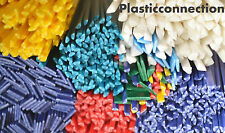 PP Plastic welding rods kit colour mix, 105 pcs, bumpers, tanks repairs