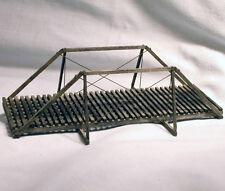 50' QUEEN POST TRUSS BRIDGE S On30 Model Railroad Structure Wood Kit HL106S