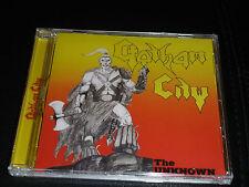 CD.GOTHAM CITY.THE UNKNOWN.SUP HEAVY METAL SUEDOIS 84. + 8 BONUS EP+ SINGLE.